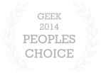 Geek 2014 Peoples Choice Award