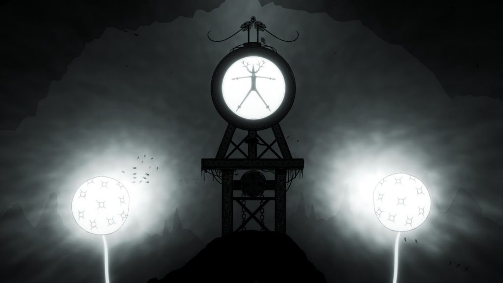 Silt screenshot showing a large construction or clockface of some kind